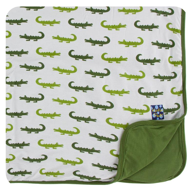 dbbeb99bdcef Print Toddler Blanket in Natural Crocodile