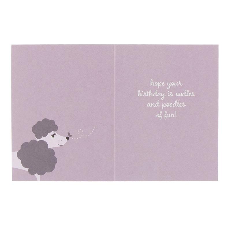 Card Pack of 6 in Happy Birthday Poppy – Gift Card Happy Birthday
