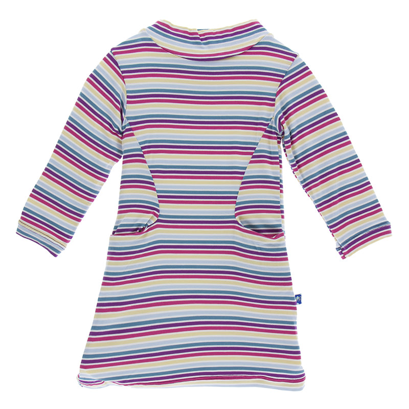 Mock Turtleneck Dress
