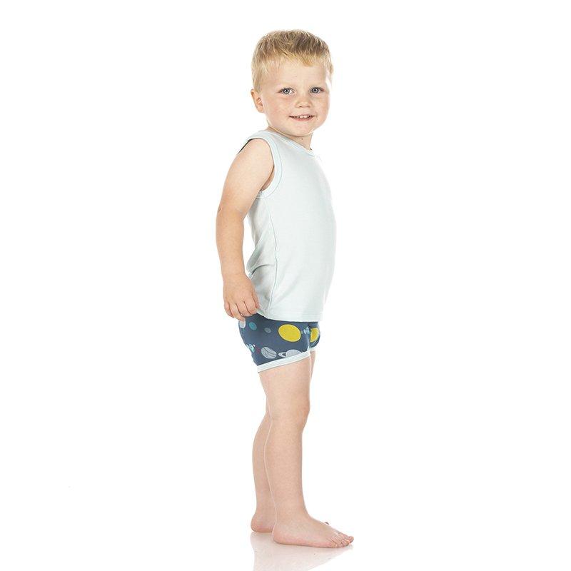 3T-4T, Dusty Sky Astronaut /& Twilight Planets KicKee Pants Training Pants Set