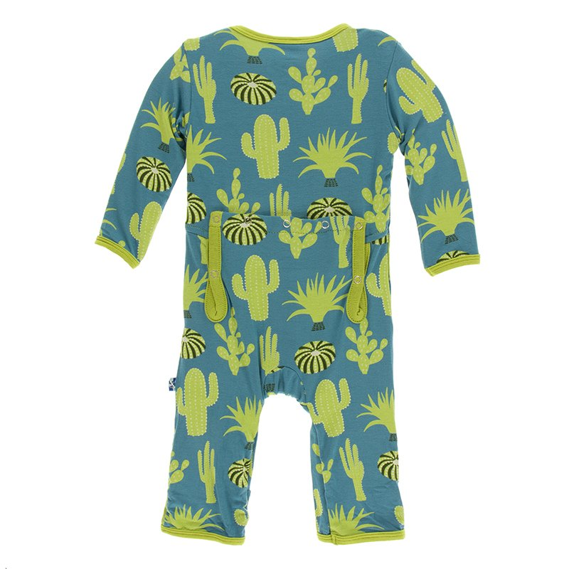 Seagrass Cactus - 2T Print Cancun Outfit Set