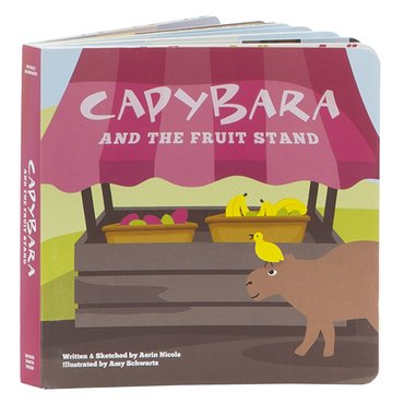 Book: Capybara and the Fruit Stand