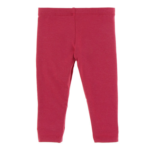 Solid Luxe Leggings in Flag Red