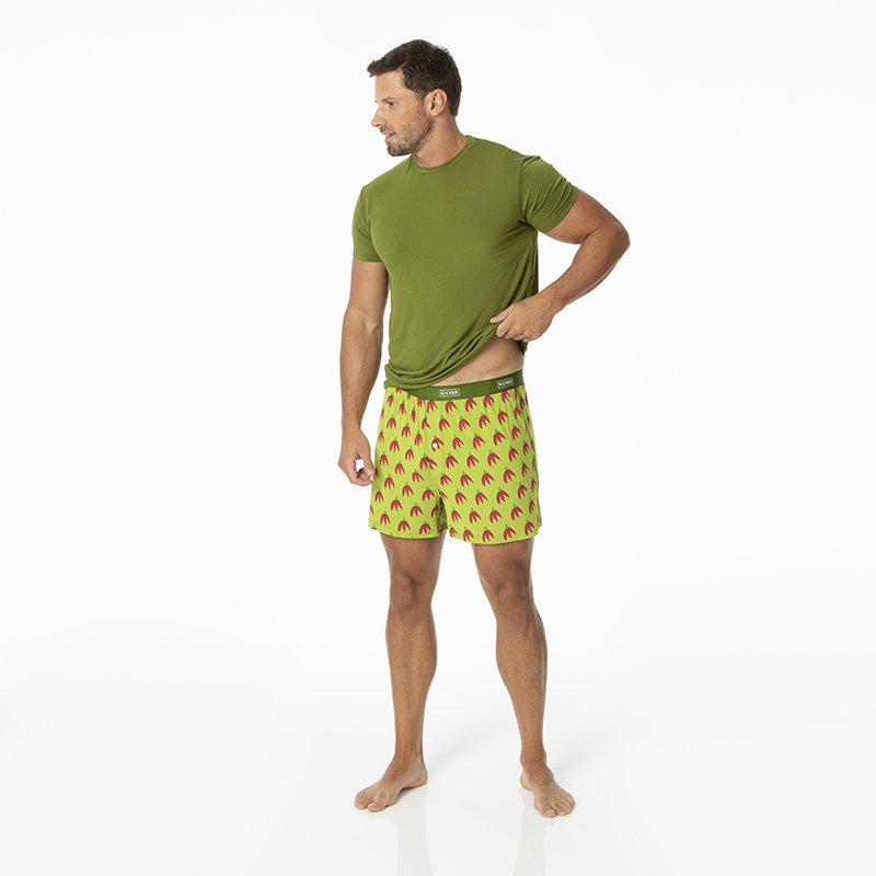 Men's Boxer Short in Meadow Chili Peppers