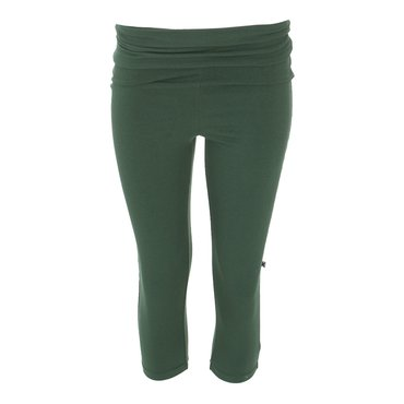 Solid Women's Performance 3/4 Legging in Topiary