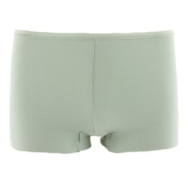 Solid Women's Boy Short Underwear in Aloe