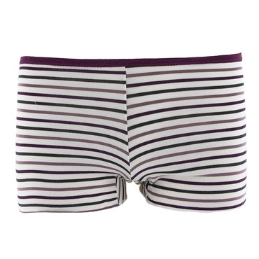 Print Women's Boy Short Underwear in Tuscan Vineyard Stripe