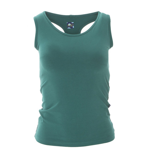 Solid Women's Luxe Tank in Ivy