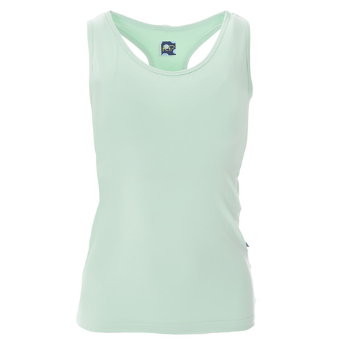 Solid Women's Performance Jersey Tank in Pistachio