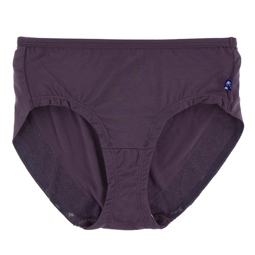 Solid Women's Classic Brief in Fig