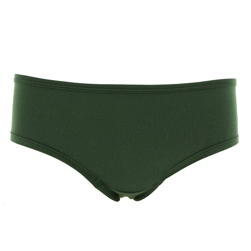 Solid Women's Classic Brief in Topiary