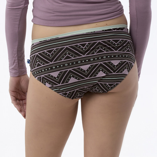 Print Women's Classic Brief in African Pattern