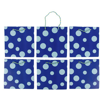 Gift Bag (Pack of 6) in Signature Kickee Pants Print
