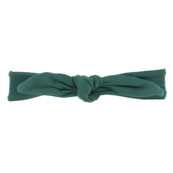 Solid Bow Headband in Ivy