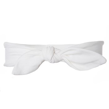 Basic Bow Headband in Natural