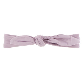 Solid Bow Headband in Sweet Pea