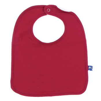Single Bib in Crimson