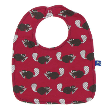 Single Bib in Crimson Busy Beaver