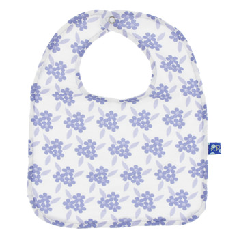 Single Bib in Forget Me Not Floral