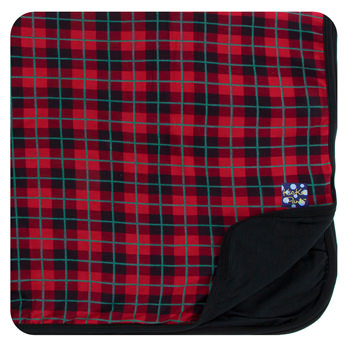 Print Toddler Blanket in Plaid