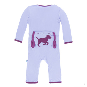 Applique Coverall in Lilac Running Lab