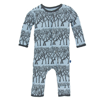 718d09772 Print Fitted Coverall in Pond Fireflies