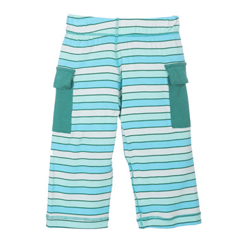 Print Cargo Pant in Boy Tropical Stripe