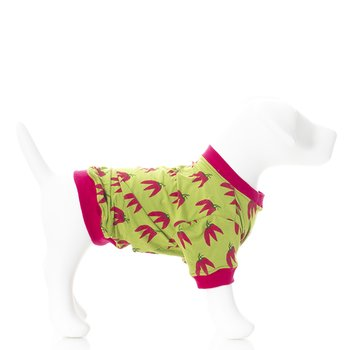Print Dog Tee in Meadow Chili Peppers