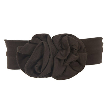 Basic Flower Headband in Bark