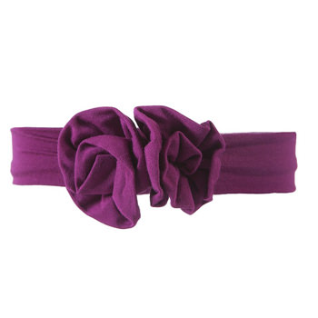 Basic Flower Headband in Orchid
