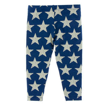 Print Performance Jersey Legging in Vintage Stars