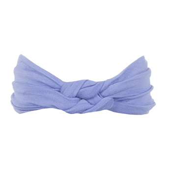 Solid Knot Headband in Forget Me Not