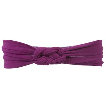Basic Knot Headband in Orchid