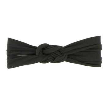Solid Knot Headband in Zebra