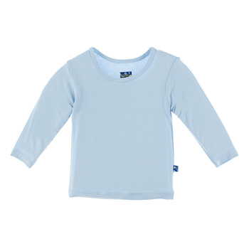 Basic Long Sleeve Tee in Pond