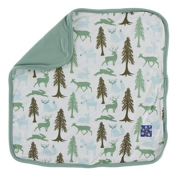 Print Bamboo Lovey in Natural Woodland Holiday