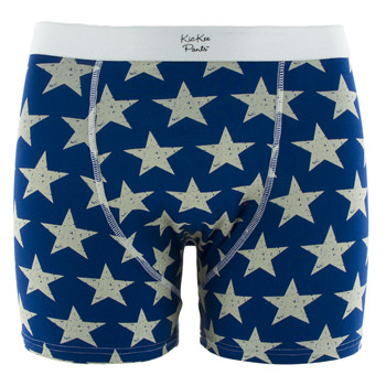 Men's Boxer Brief in Vintage Stars