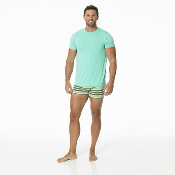Men's Boxer Brief in Cancun Glass Stripe