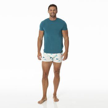 Men's Boxer Brief in Natural Manta Ray