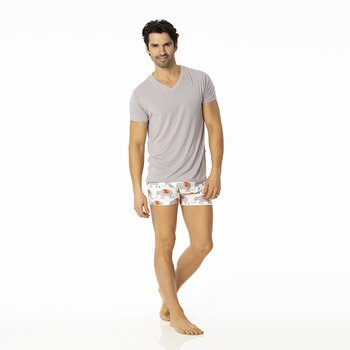 Men's Boxer Brief in Natural India Elephant