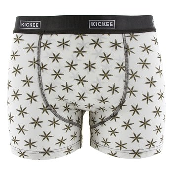 Men's Boxer Brief in Natural Star Anise