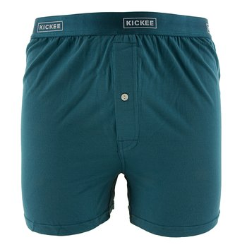 Solid Men's Boxer Short in Oasis