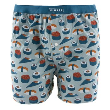 Men's Boxer Short in Jade Sushi