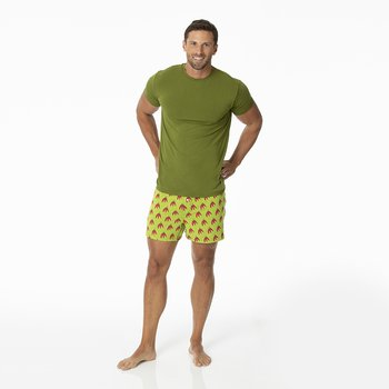 Men's Boxer Shorts in Meadow Chili Peppers