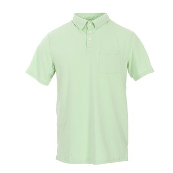 ed8aec138d159 Men s Solid Short Sleeve Performance Jersey Polo in Pistachio