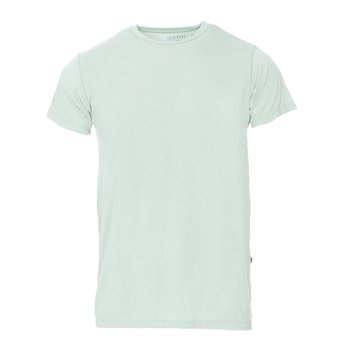Men's Solid Short Sleeve Tee in Aloe