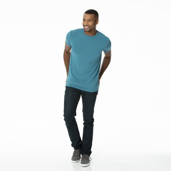 Men's Solid Short Sleeve Tee in Seagrass