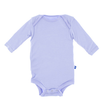 Basic Long Sleeve One Piece in Lilac