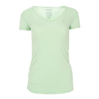 Solid Short Sleeve One Tee in Pistachio