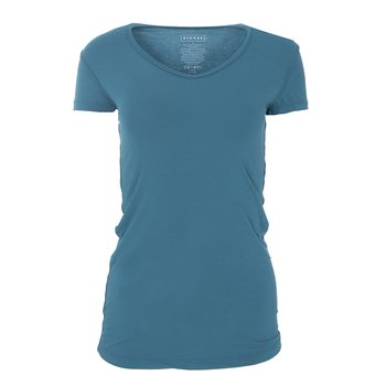 Solid Short Sleeve One Tee in Seagrass